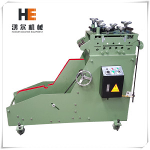 Manual Steel Coil Decoiler Straightener