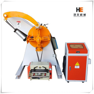 Hydraulic Re-Coiler Machine