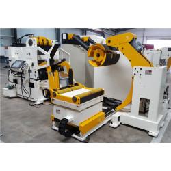 Machine d'alimentation à rouleau NC, de redressage et de déroulage
