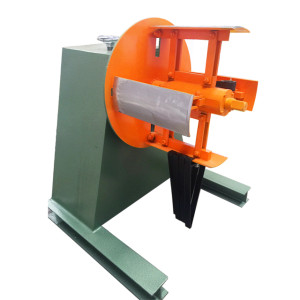 Non-Motorized decoiler / Manual expansion/ For Press Feed