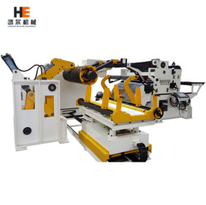 3 in 1 Servo Straightener Feeder with Uncoiler for auto parts manufacturing