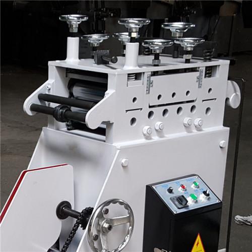 CL Devanadora y Enderezadora 2 en 1 para Rollo de Metal de Diámetro Interior Pequeño (0.4-2.2mm) Líneas de Alimentación Compactas