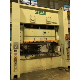 Seyi brand(from Taiwan) straight side double point press 300T