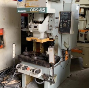 Komatsu brand(from Japan) 45T gap frame press