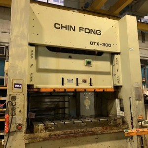 Chinfong brand 300T straight side double point press