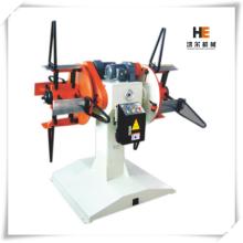 Machine de déroulage à  double mandrins motorisée automatique