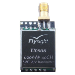 Micro 5.8GHz 600mw FPV audio video wireless  RF transmitter for rc helicopter