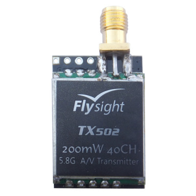 micro 200mW 5.8ghz 40ch FPV video transmitter for racing drone