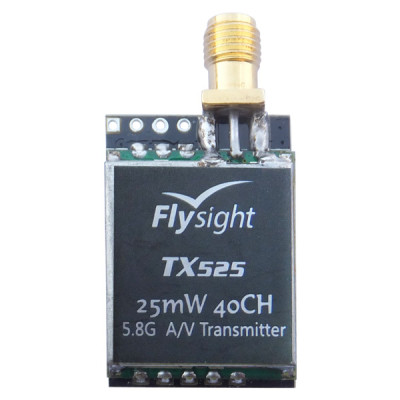 25mW 5.8ghz 40CH FPV audio and video transmitter  for RC Airplane Helicopter