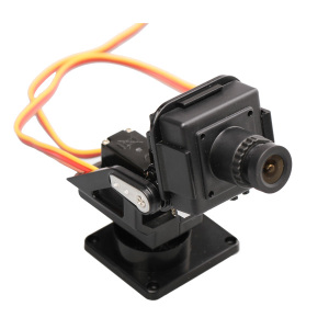 Pan Tilt helicopter outdoor rc camera with mount servo  for aerial photography