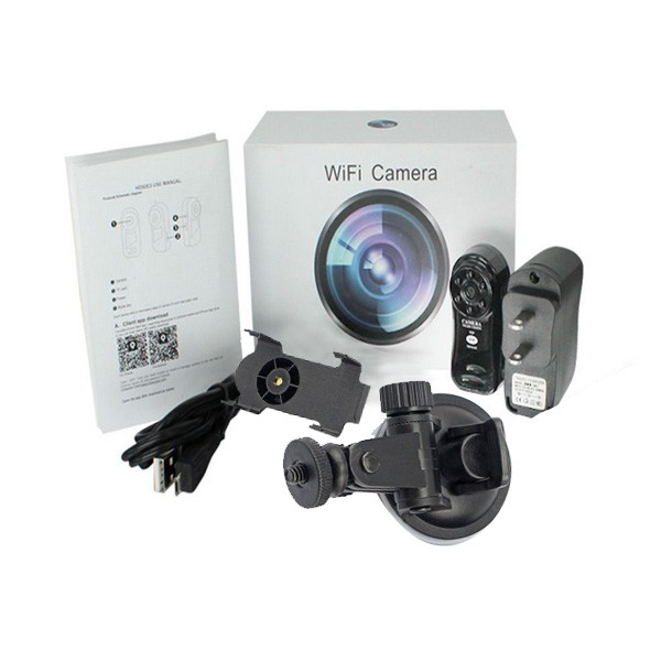 IR Night Version Mini Portable Hidden Rechargeable Wifi IP Camera Thumb DV-MD81-6