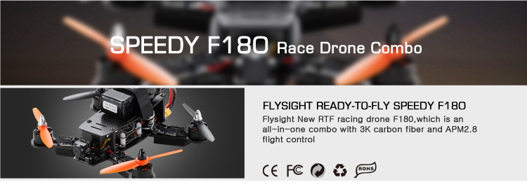 FLYSIGHT READY-TO-FLY SPEEDY F180