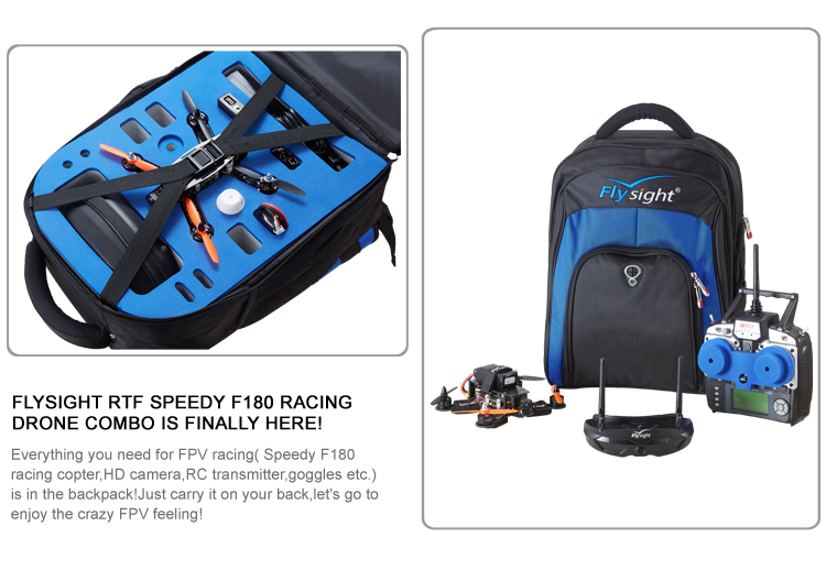 FLYSIGHT RTF SPEEDY F180 RACING  DRONE COMBO IS FINALLY HERE!