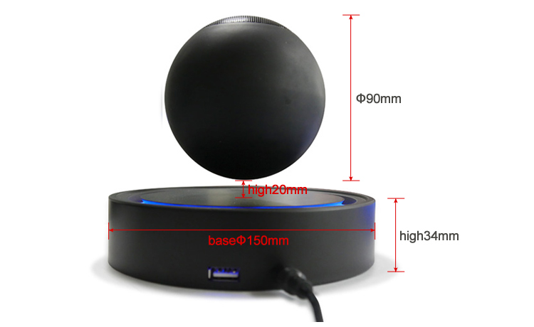 Rechargeable Levitating Air 2 Floating Bluetooth Speaker