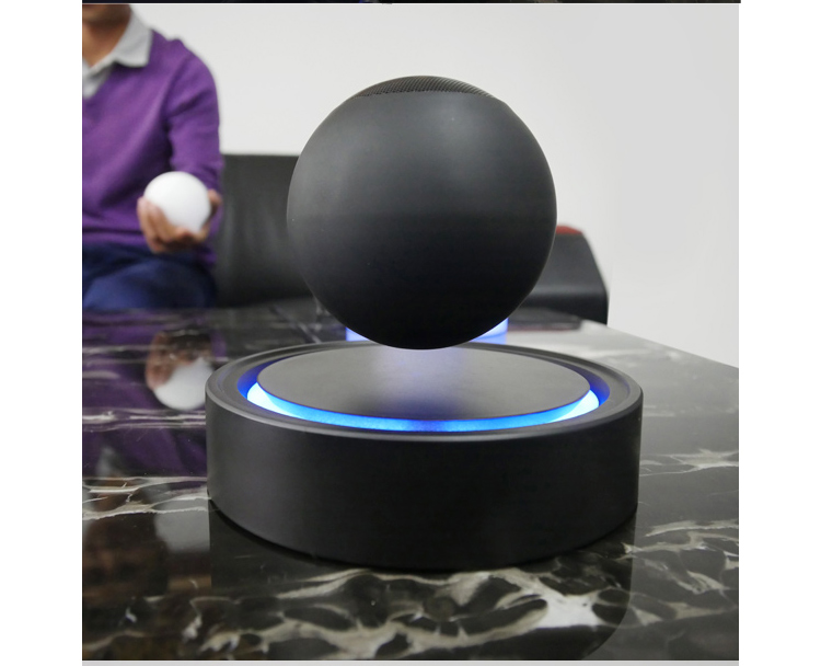 wireless bluetooth portable magnetic speakers magnetic Levitating bluetooth speakers