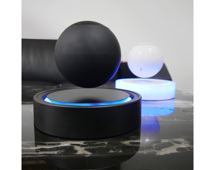 Newest Christmas New Year Magnetic Levitation Heavy Bass Wireless Floating bluetooth speaker