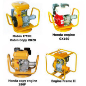 Similar Robin gasoline engine with frame and coupling