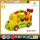 Cute cartoon baby musical toy bus battery operated car