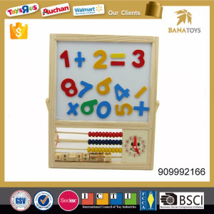 Educational baby abacus Children wooden toys