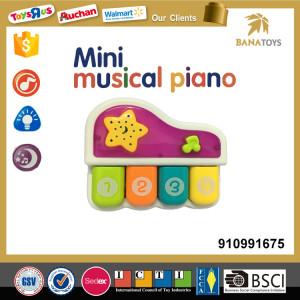4 keys electron mini baby piano toy