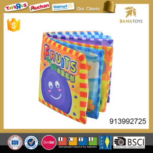 Baby Toy Fruit Cloth Book Toy