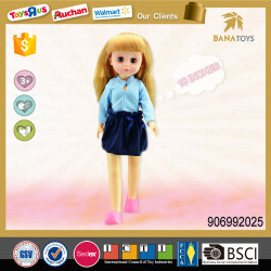 16 inches baby girl doll with music