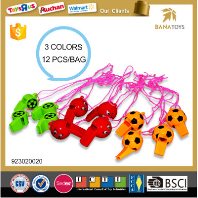 High Quality Interesting Child Toy Plastic Whistle