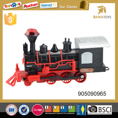 Free shipping durable battery kids operated train set car toy