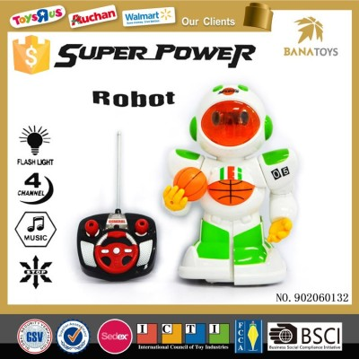 Wholesale Kid Remote Control Sport Toy full power rc robot toy