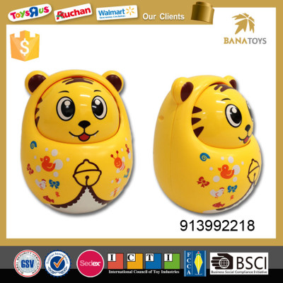 Wholesale Cute Chiming Tiger Shape Tilting Toy Baby Kids Toys