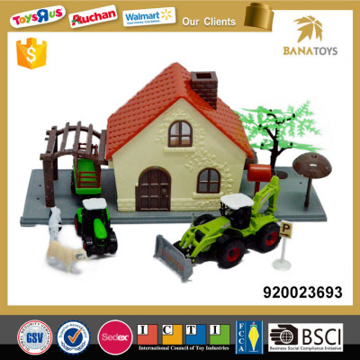 Tractor And Animal Friends Farm Plastic House Toy