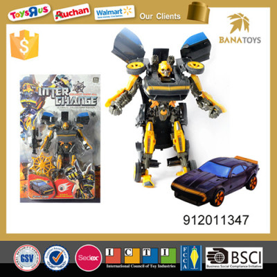 super hero transformer exclusive figure robot car toy