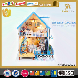 DIY Comfortable Full House Box Action Figures toys