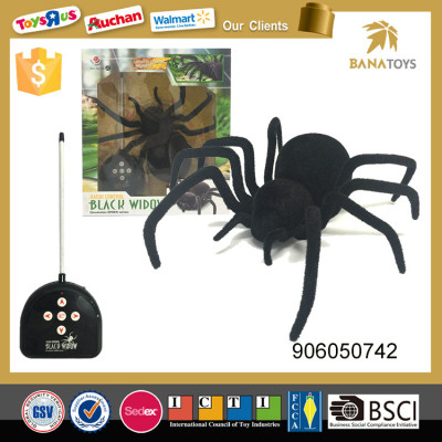 Tricky plastic simulation spider rc toy
