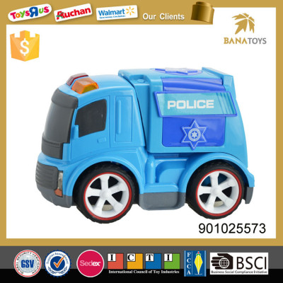 Cartoon appearance friction toy engineering bobby car
