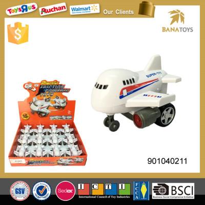 Hot selling miniature toy plastic plane model