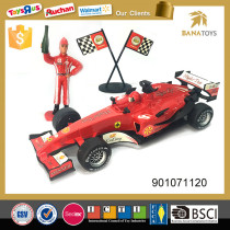Battery included inertia formula 1 model toy cars