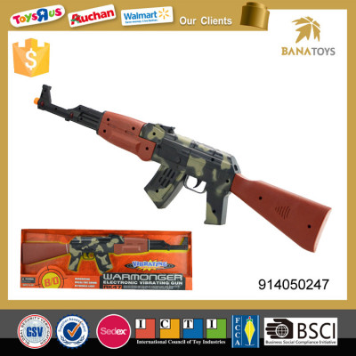 Plastic camouflage sniper rifle toy machine gun