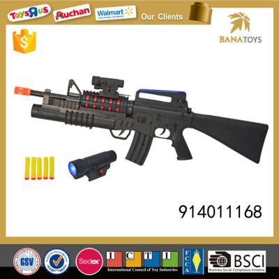 Special forces plastic electric gun with soft bullets