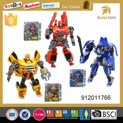 Super cool design deformation toys walking robot
