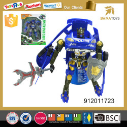 Wonderful plastic boy toy robot