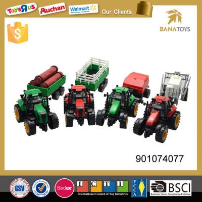 Hot sale pull back mini farm tractor