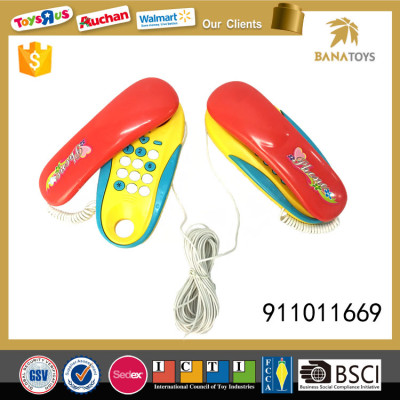 Interesting interphone intercom toy corded phone