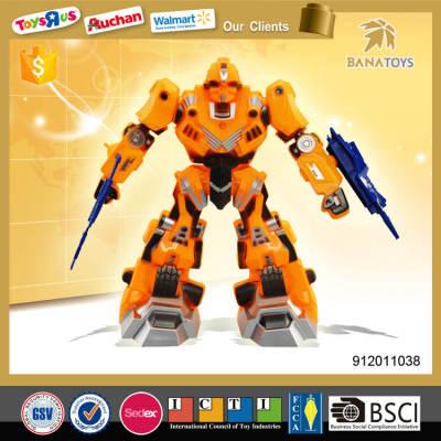 New arrival plastic transform robot for kids