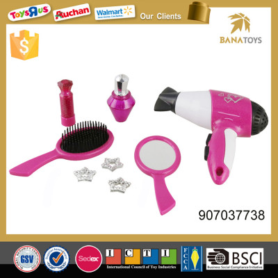 Hot selling hair dryer and mirror girls bedroom sets