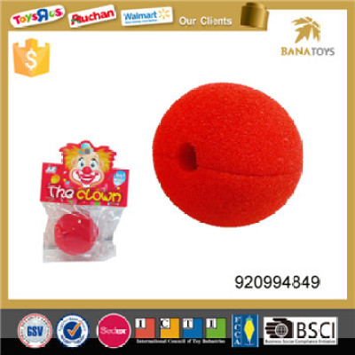 stage performance red clown nose toy