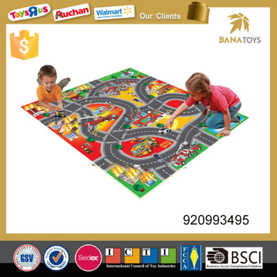 Simulated Urban Traffic Play Mat Toy