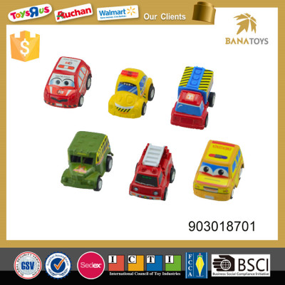 cheap pull back wholesale plastic toy car for kids