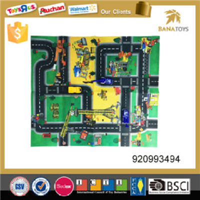 mobile machinery shop scene map carpet toy