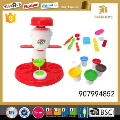 Delicious ice cream play dough color foam clay